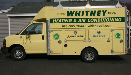 Whitney Brothers Box Truck